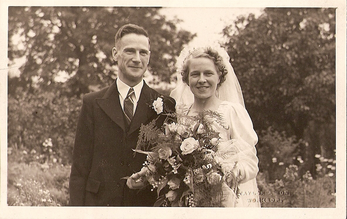 Wilfred Marshall and Mary Goddard Wedding